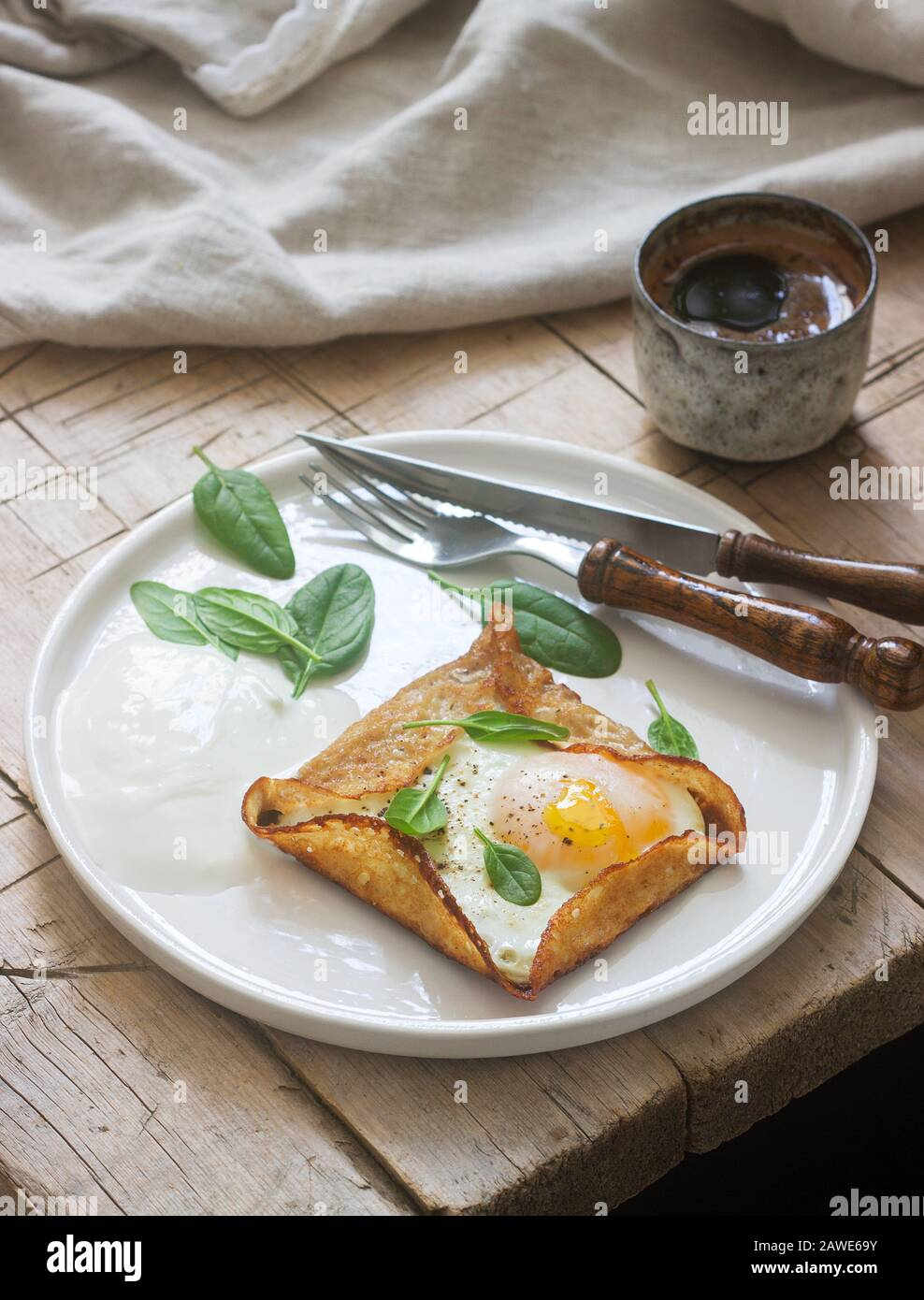 Breton Galette High Resolution Stock Photography And Images Alamy