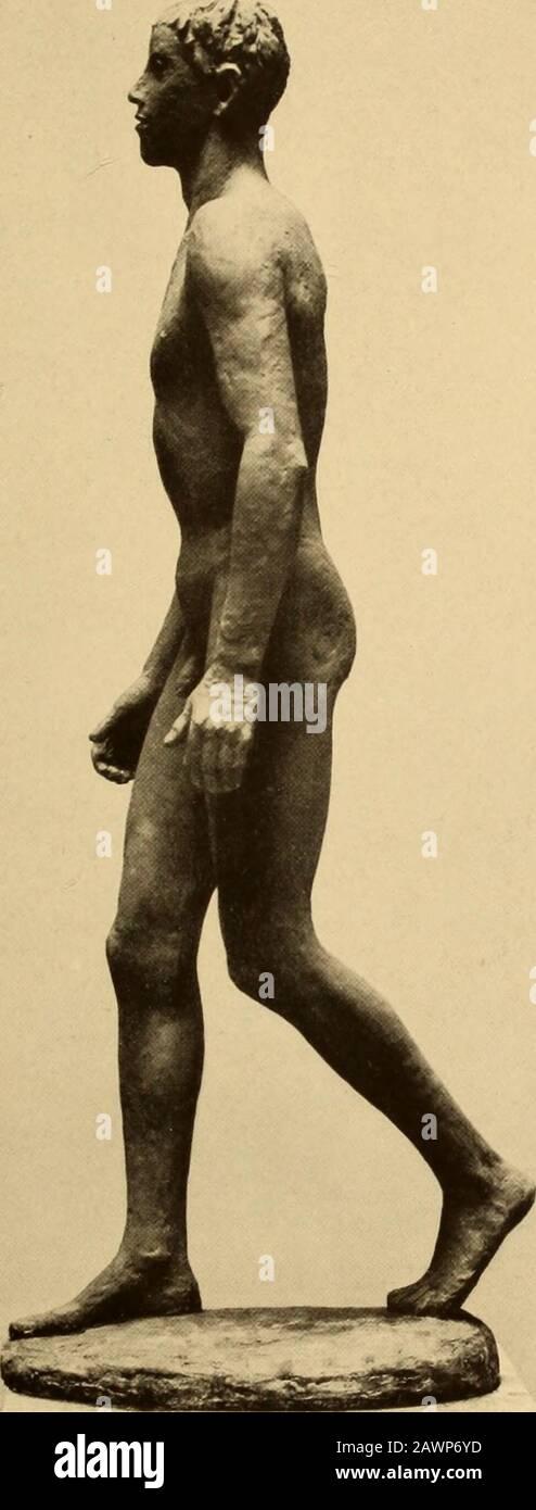 Entwicklungsgeschichte der modernen kunst . RENHE SINTENIS; ZWEi TlERBRONZEN 485. ERNESTO DE FIORl: SCHREITENDER JünqlinoAufnahme Galerie Flechtheim, Berlin 486 - -yt-mi: Bi ^^^ Hr ^nH^^^ ^?i^^ ^^^^^^^1 •» Vi .. y Fl^^teA- ^.i^l^^^^H » ?i . 5«L k X ^^Hl.1 iI^b3k5- >* , 1 m ^^ ^ M,  ^^(^^ml Hfc.at- *< immii^^^^ ^??^l PAUL CEZANNE: SELBSTBILDNIS. 1864Aufnahme Vollard, Paris 487 Stock Photo