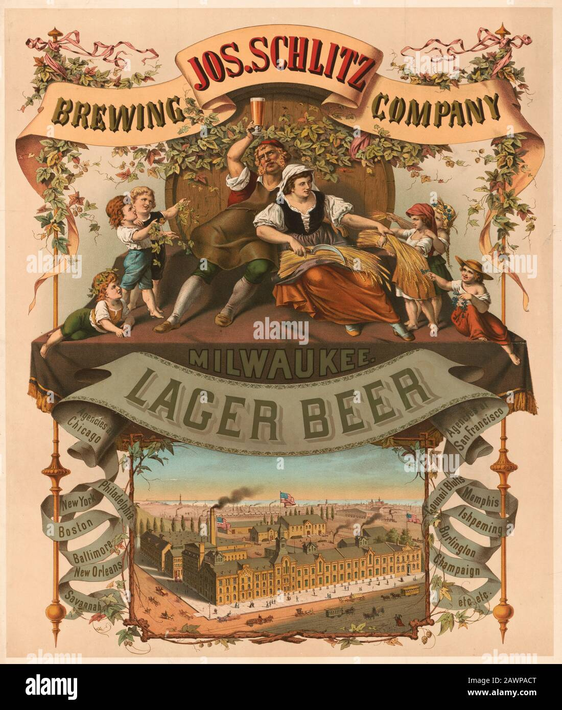 Notting Hill Brewery vintage Beer Advertising poster reproduction.
