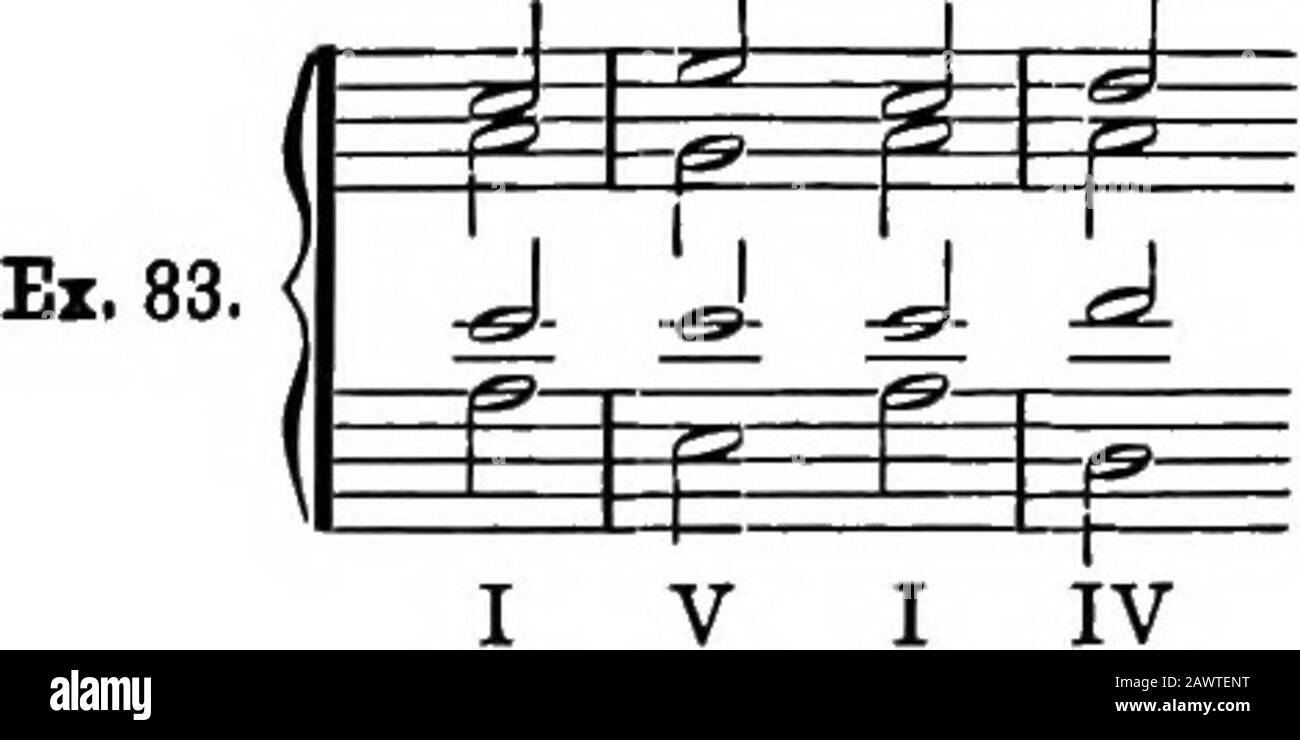 Harmony, its theory and practice . From 20 to 20 the bass moves by ...