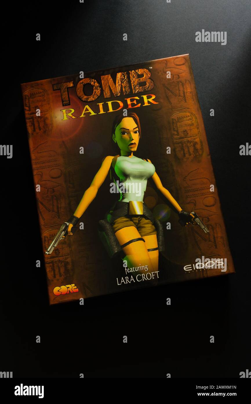 Lara Croft Tomb Raider Game High Resolution Stock Photography And