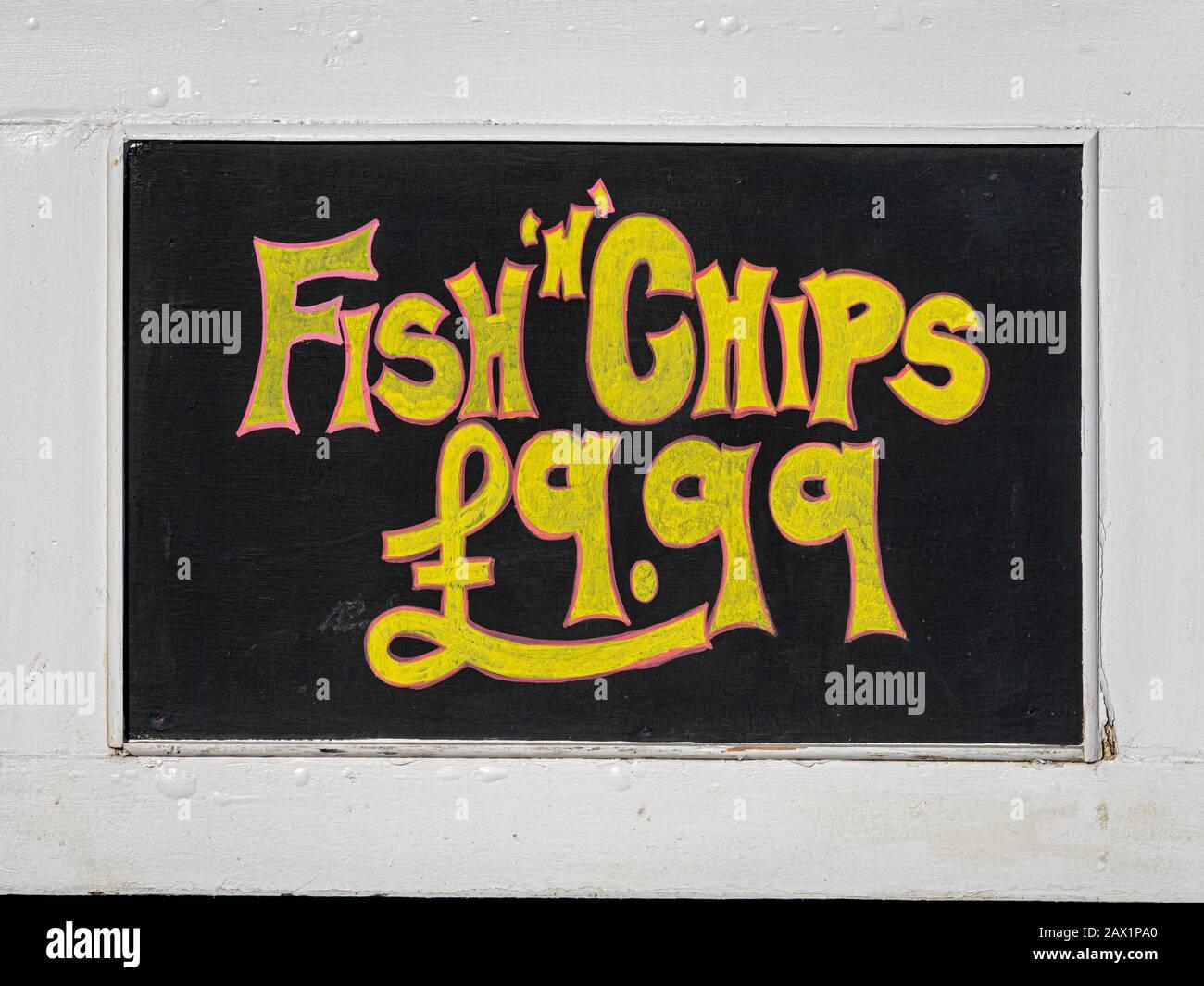 Cafes /& Bars Chalkboard Signs for Tackle Shops 5 Fish Blackboard Aquariums