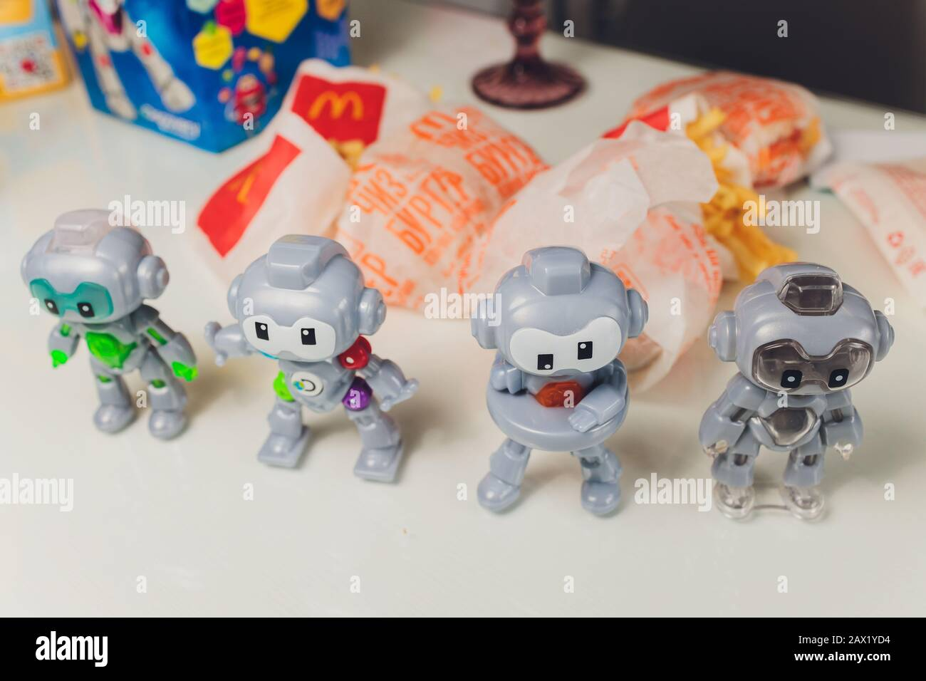Happy Meal Mcdonalds Toy High Resolution Stock Photography And