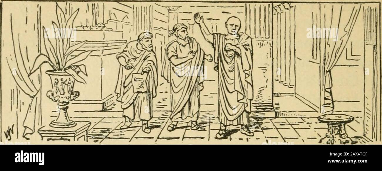 Julius Caesar and the foundation of the Roman imperial system . CHAPTER XL  CONFERENCE AT LUCCA, AND CAMPAIGN IN BRITTANY. 56 B.C. yESAR was fully  occupied bothin the winter of 57-56 B.C.,and