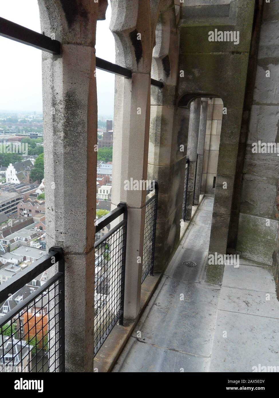 Nederlands Een balkon van de Domtoren.; 21 February 21; Own work ...