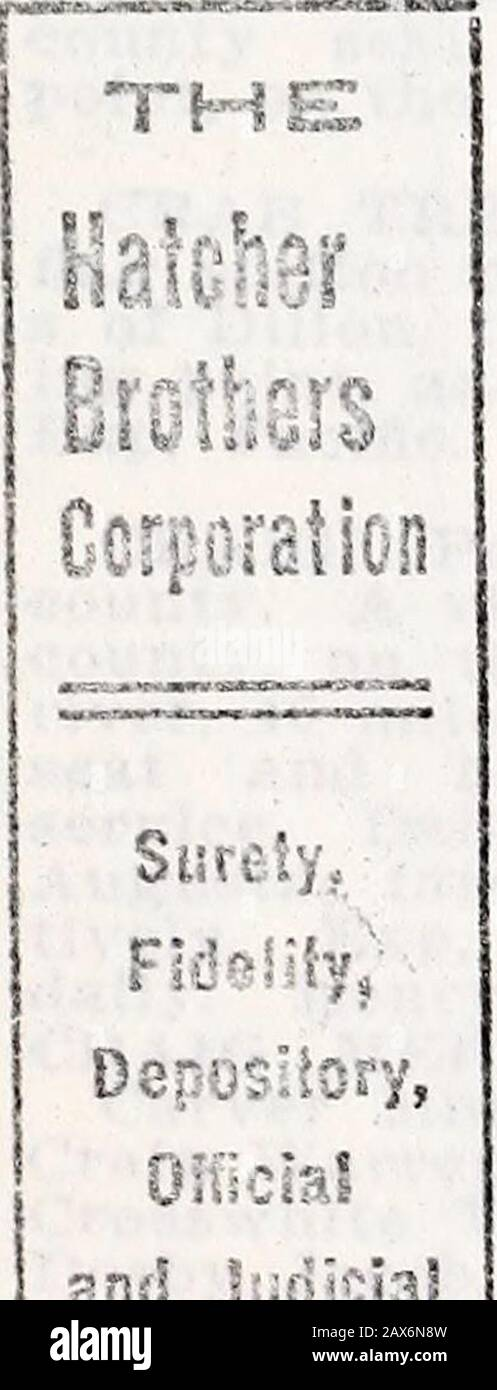 Minnesota, North and South Dakota and Montana gazetteer and business directory . agher county. A dis-continued P o, 16 miles n e of WhiteSulphur Springs, the county sealbank location, and 22 n w of Marti idale, on the M P. R. tin; shippir:., - -tlon. Mail to Dt-lpine. issn, Roy copper cliff. Powel CI iff. county. See CONTACT. Park county. A p o andmining- camp, 30 miles s e of Livings-ton, the seat of justice, and o0 s w ofBig- Timber, on the N P Ry, the mostconvenient banking- and shipping point.Stage with mail tri-weekly from BigTimber, fare $2.5i>. A B Gould, P M.GOULD A B, Hotel. CORA. Stock Photo
