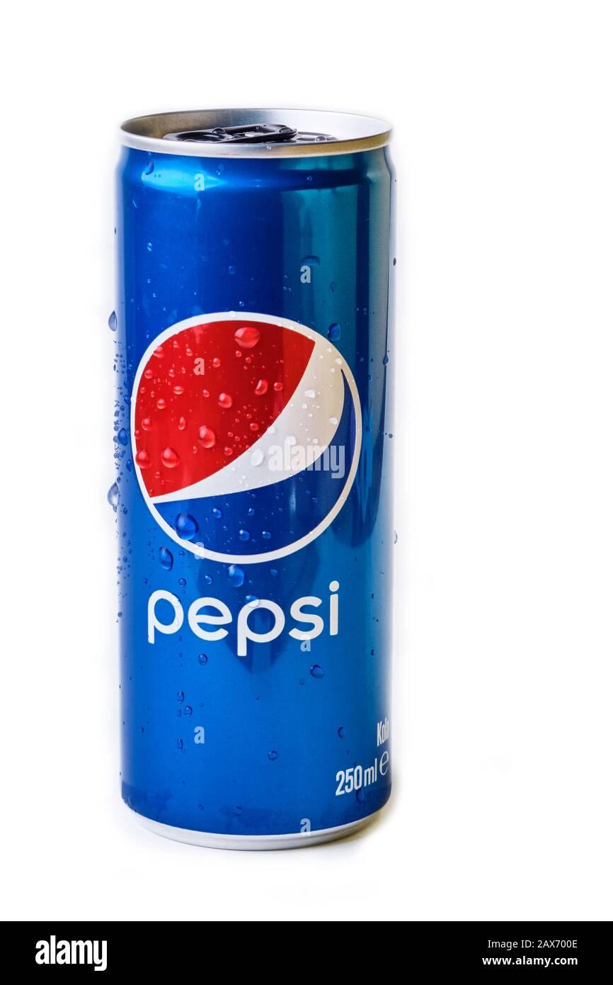 EMPTY Pepsi MOUNTAIN DEW  Cola Tall 330ml can MALAYSIA 2016