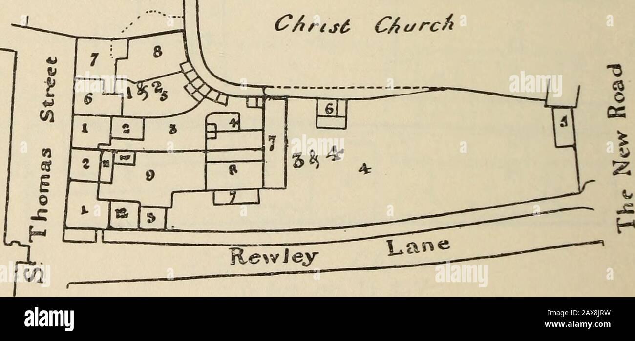 Publications . Vol. n, pp. 506-7. 6i6 TENEMENTS OF CHRIST CHURCH, 1829 [31 St. Thomas (Hollybush Row, West Side). Lessee. Occupier. Description. Quantity.A. R. P. ^^ ^ 3,4 Mark & JamesMorrell Thomas Hounslow I Dwelling-house Lewis Snow 2 )) William Allen J) 5>)> )>J) J>JJ )> J» ,> )> J)>> 5)55 >> 34 56 7 8 9 10II WorkshopTimber YardCart HovelPigsties Workshop & Saw-pitsYard & PigstiesYard Wash-houseShed 5) 5> 12 Dwelling-house 0 I 2 2^% I, 2 Arthur Hughes William Lipscomb I DweUing-house Widow Wilsdon 2 )j )> > 3 Yard, Pigsties, &c. William Lipscomb 4 Stock Photo