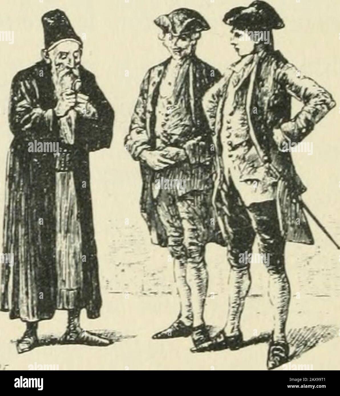 Candide; ou, L'optimisme; . t (lacanibo. — Je revois ddiic iiiuii (lier Candide! ••séciiait Pangloss. Candide b^ui piésenlail Martin el Cacambo. Ils sem-brassaient Ions; ils parlaient Ions à la b>is. La galèrev(dait; ils élaienl déjà dan-ctpiinsun diamant de la alciir de cciil mille, et <;ui lui jurapar Abraham «piil nen poiiviiil donner daaiilage. H 154 CANDIDE paya incontinent la rançon du baron et de Pangloss.(lelui-ci se jeta aux pieds de son libérateur et les baignade larmes; lautre le remercia par un signe de tête etlui promit de lui rendre cet argent à la première occa-sion. « M Stock Photo