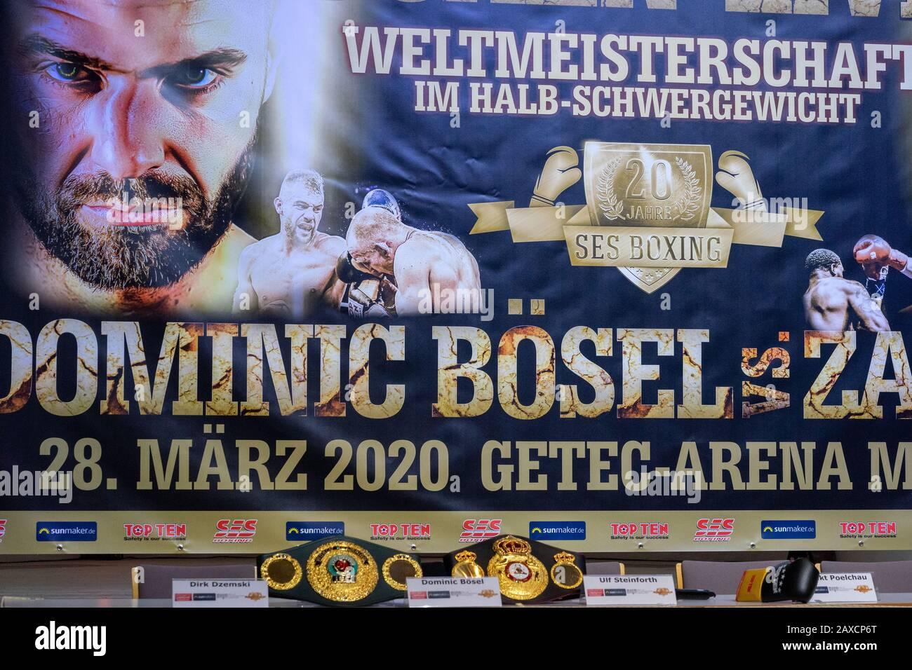 Boxen; Magdeburg; Presse; Pressekonferenz; SES; Stock Photo