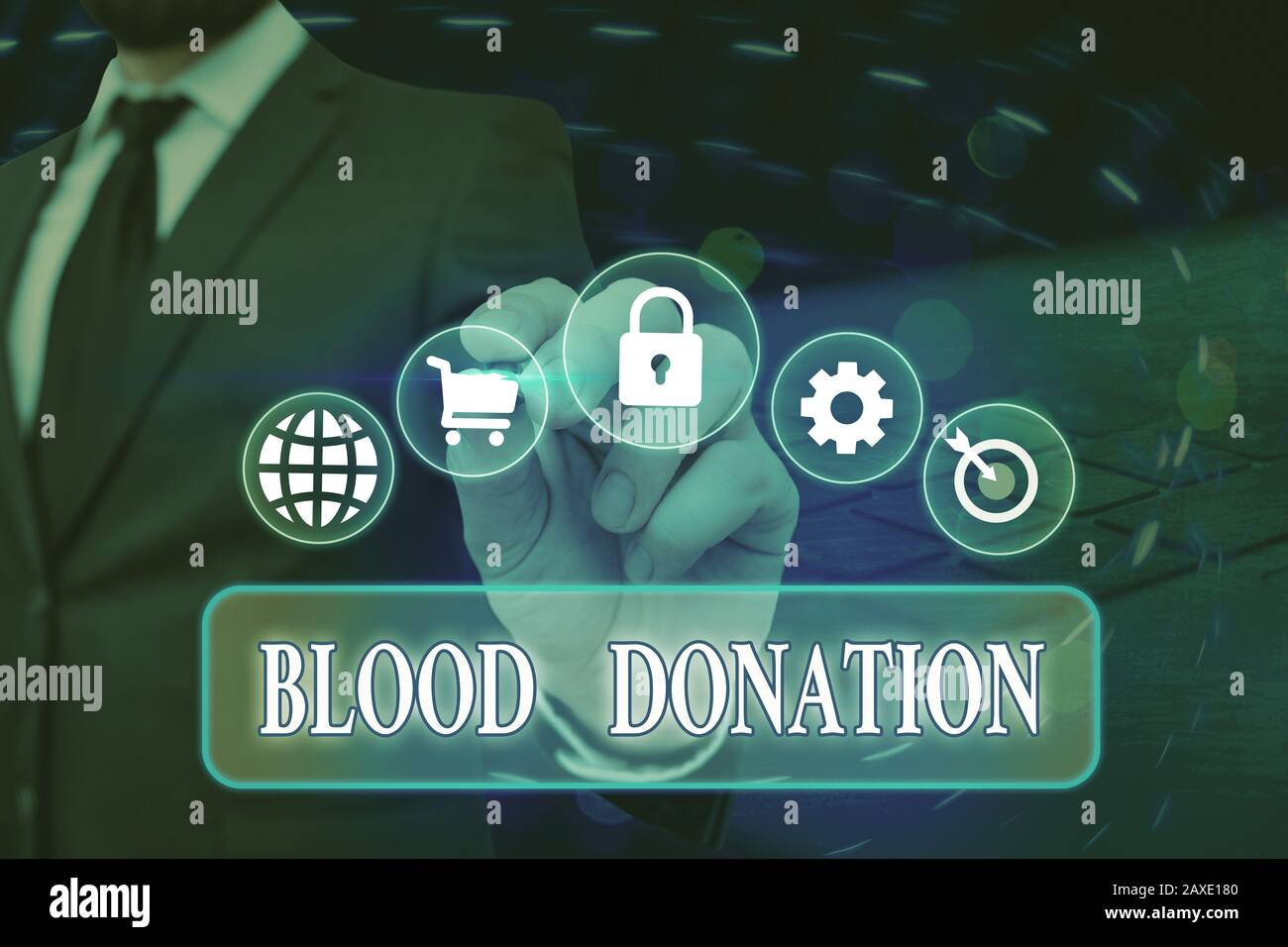 Conceptual Hand Writing Showing Blood Donation Concept Meaning Process Of Collecting Testing And Storing Whole Blood Stock Photo Alamy