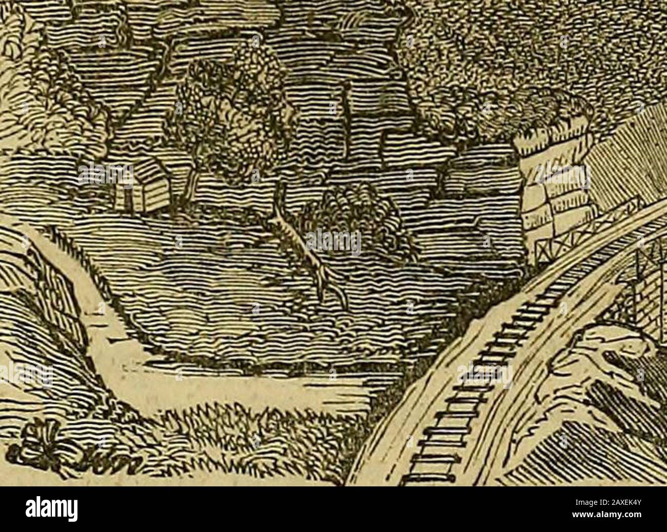 The pictorial sketch-book of Pennsylvania : or, its scenery, internal improvements, resources, and agriculture, popularly described . 3Hh. Stock Photo