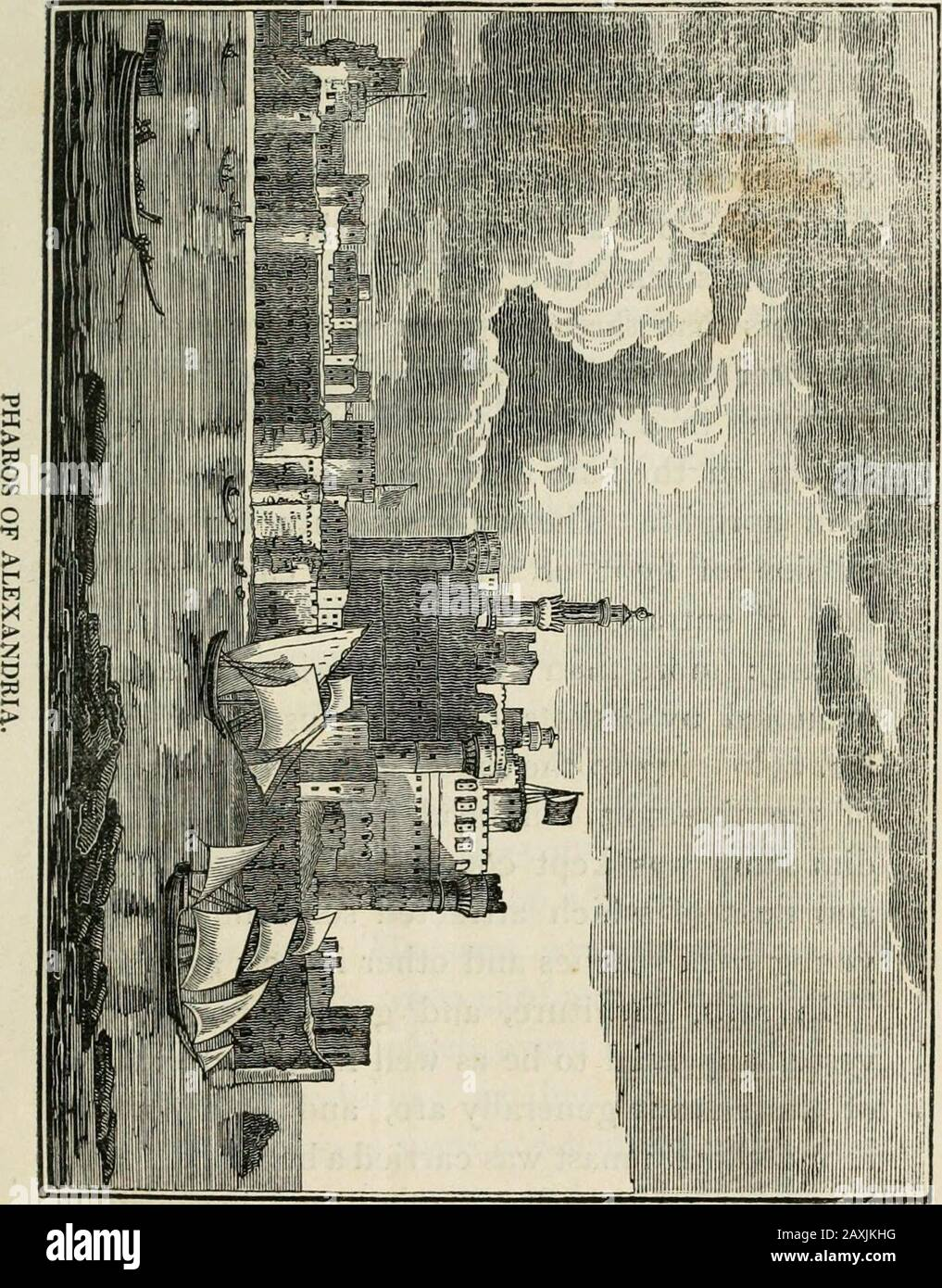 Travels in Palestine, through the countries of Bashan and Cilead, east of the River Jordan; including a visit to the cities of Geraza and Gamala, in the Decapolis . o take charge of the vessel,and conduct her navigation during the con-tinuance of the contrary wind ; and this had theeffect of making them agree unanimously tokeep under sail a little longer. The vessel in which I had embarked, was oneof those called a Shuktoor, and seemed peculiarto the navigation of the Syrian coast. Its lengthwas about thirty feet, and its extreme breadthfifteen, but being of shallow draught, itsburthen could n Stock Photo