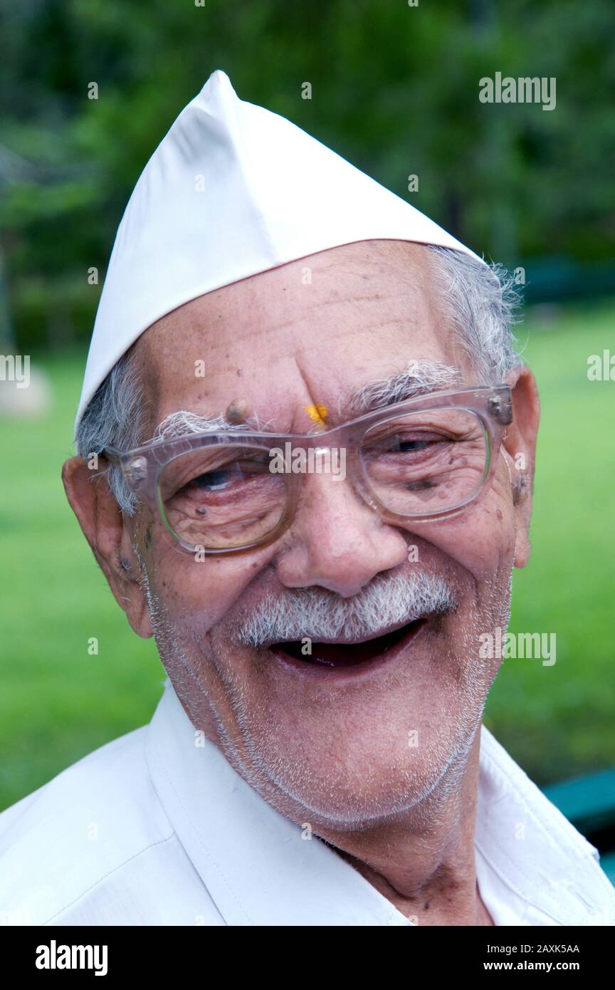 Gandhi Cap High Resolution Stock Photography and Images - Alamy
