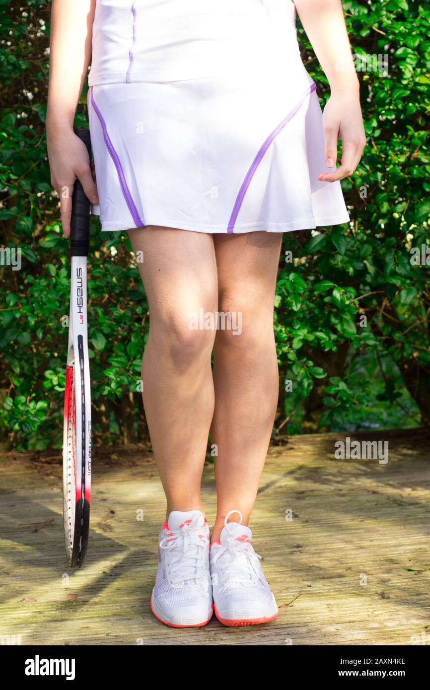 Tennis Skirt High Resolution Stock Photography And Images Alamy