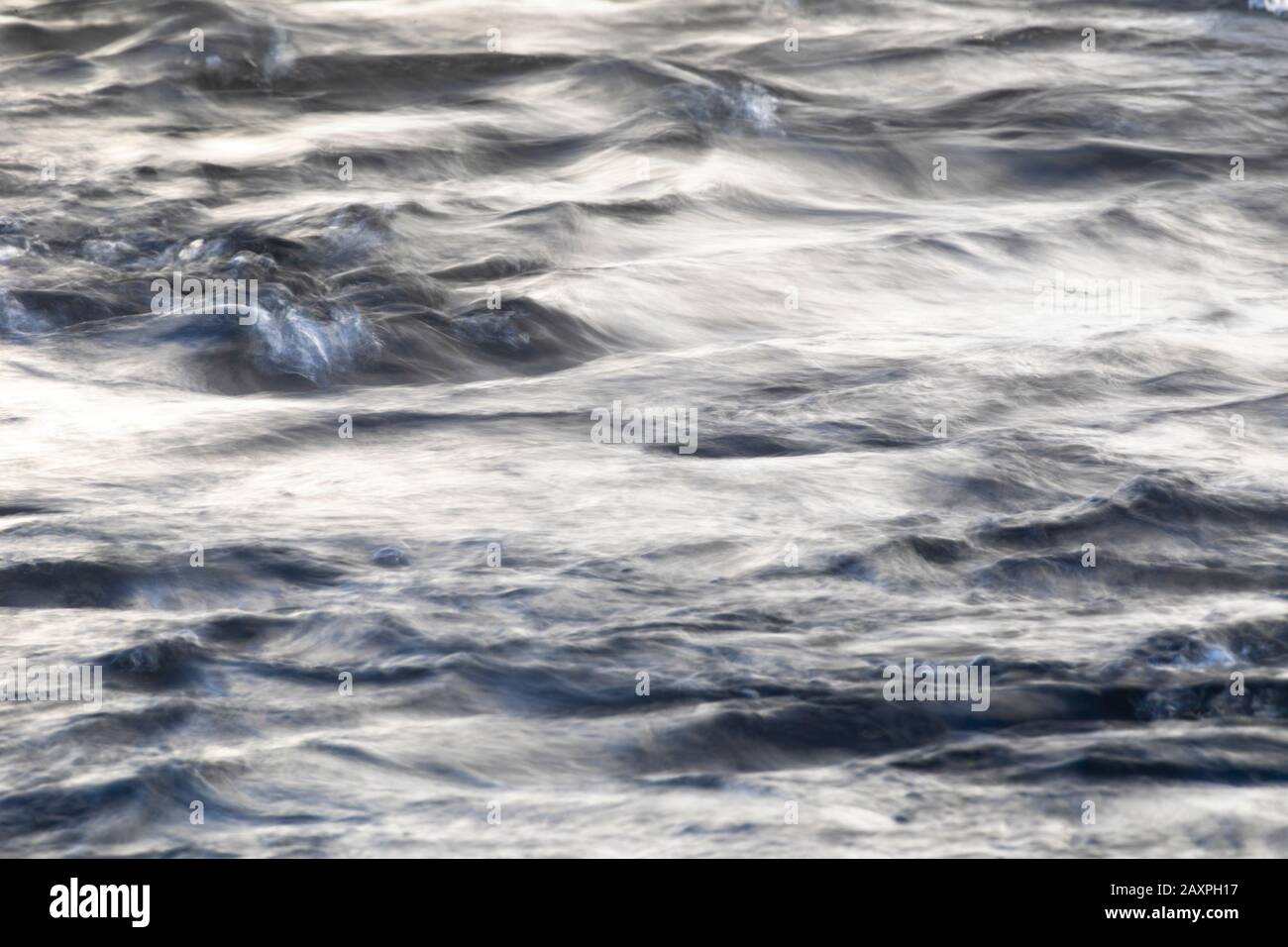 Wave, structure, Finland, brook Stock Photo