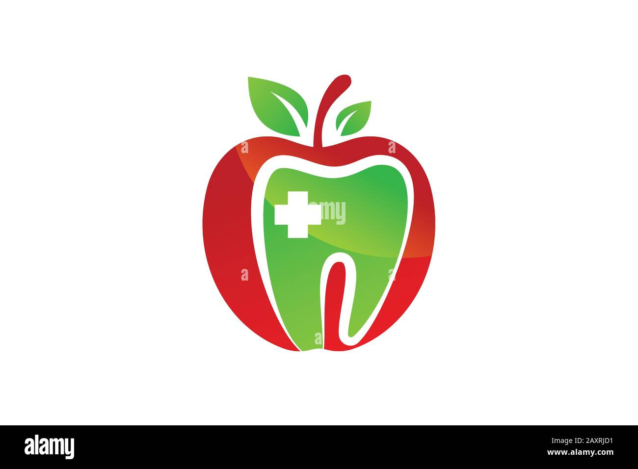 Dental Apple Logo Sign Symbol Design Green Apple Tooth Teeth Dent Dental Dentist Image Icon Stock Vector Image Art Alamy