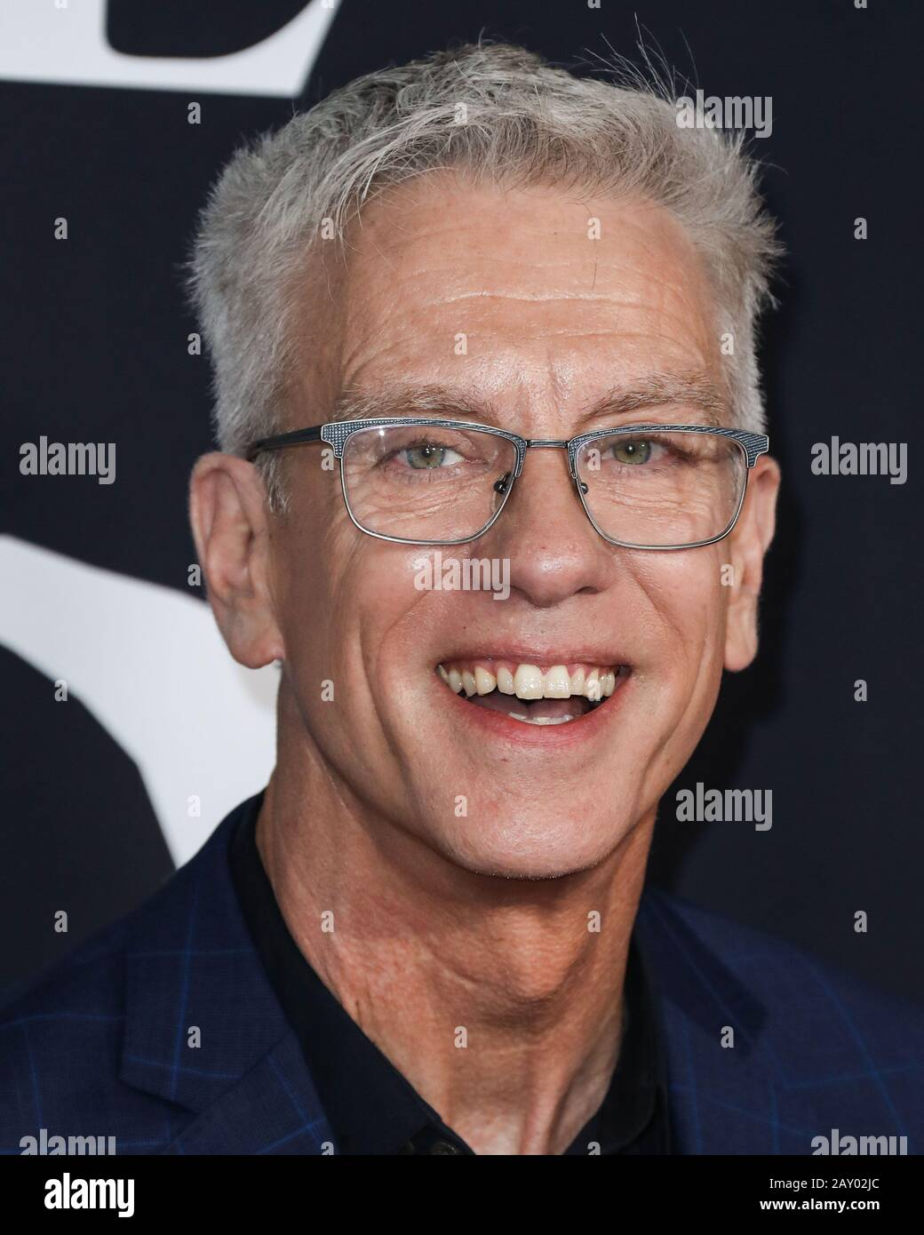 Hollywood, United States. 13th Feb, 2020. HOLLYWOOD, LOS ANGELES, CALIFORNIA, USA - FEBRUARY 13: Chris Sanders arrives at the World Premiere Of 20th Century Studios' 'The Call Of The Wild' held at the El Capitan Theatre on February 13, 2020 in Hollywood, Los Angeles, California, United States. (Photo by Xavier Collin/Image Press Agency) Credit: Image Press Agency/Alamy Live News Stock Photo