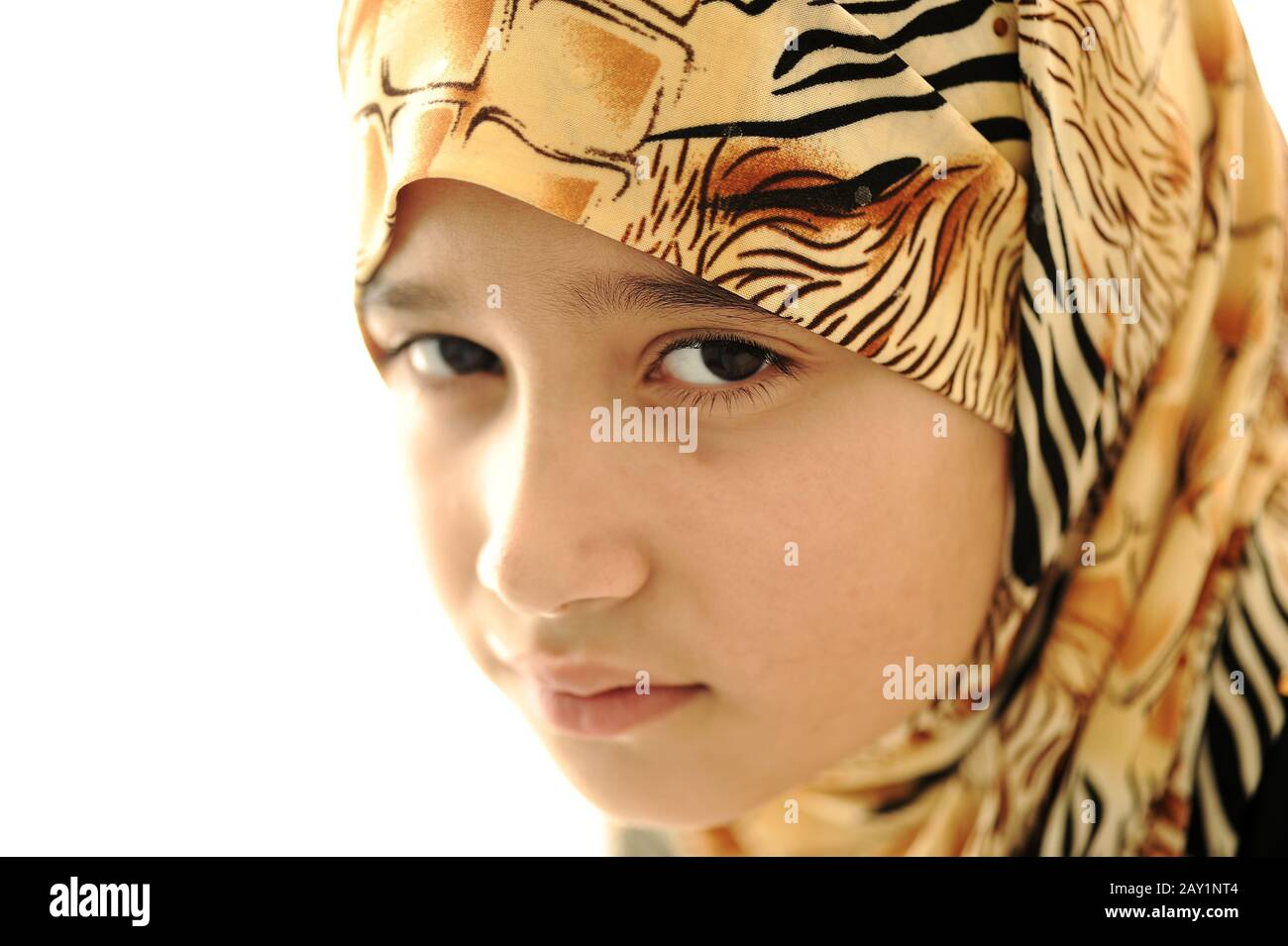Muslim Girl Sad High Resolution Stock Photography And Images Alamy