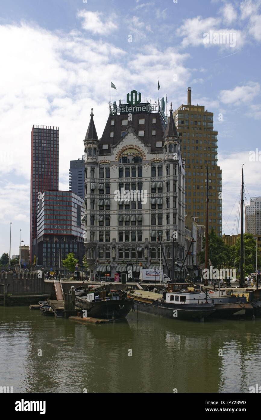 The white House (Witte Huis) in Rotterdam, Netherl Stock Photo