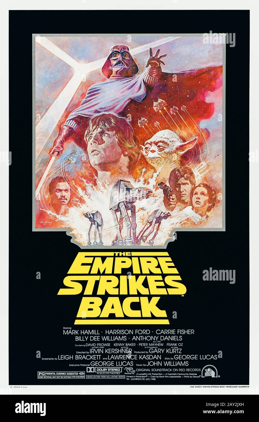 Star Wars Episode V The Empire Strikes Back 1980 Directed By Irvin Kershner And Starring Mark