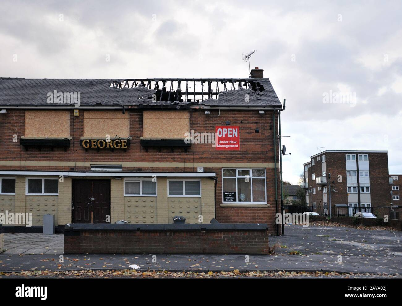 Derelict Leeds High Resolution Stock Photography And Images Alamy
