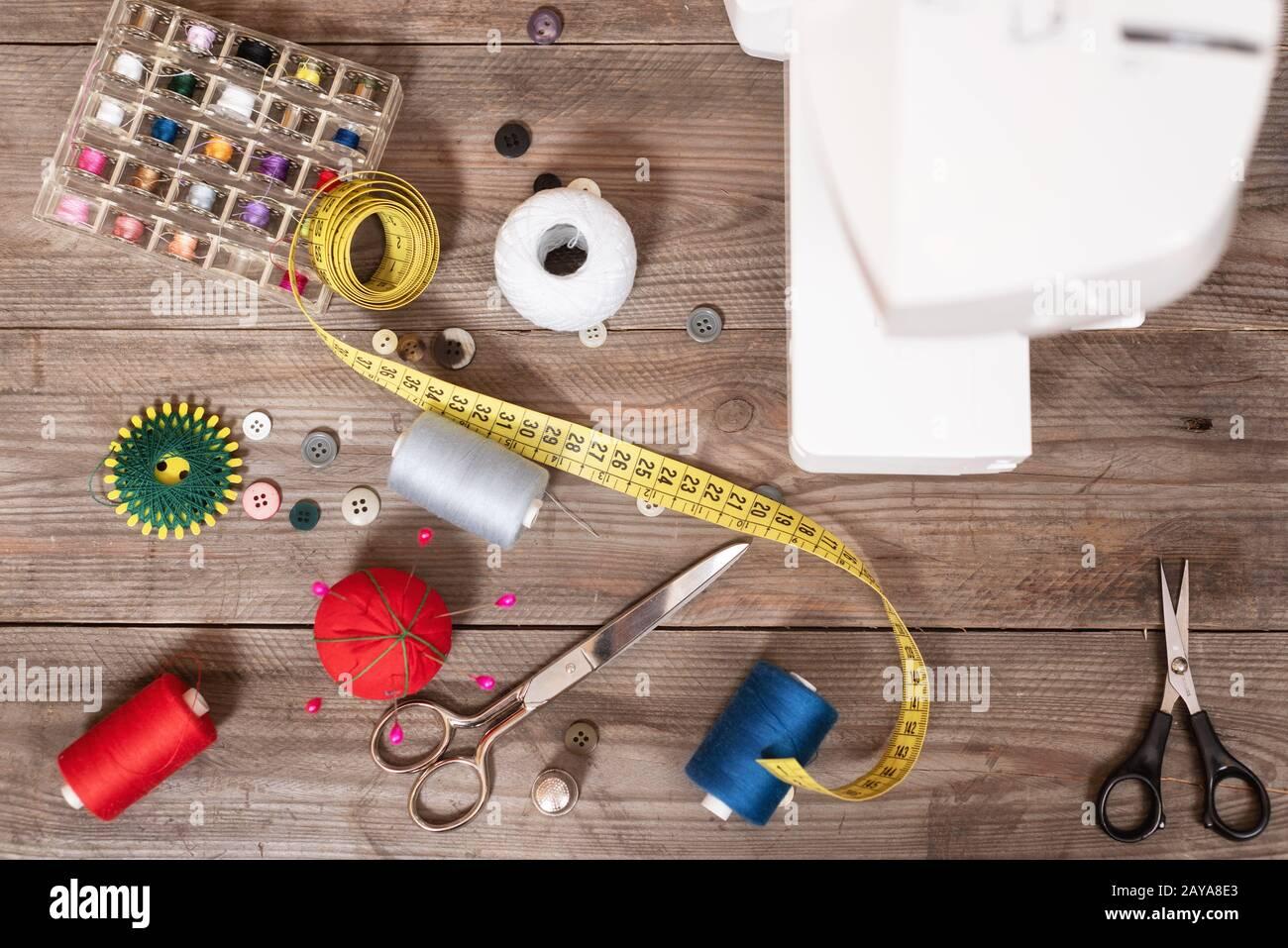 Sewing and Seamstress tools