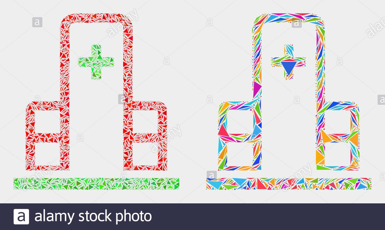 Black Line Medical Hospital Building With Cross Icon Isolated.. Royalty  Free Cliparts, Vectors, And Stock Illustration. Image 135738068.