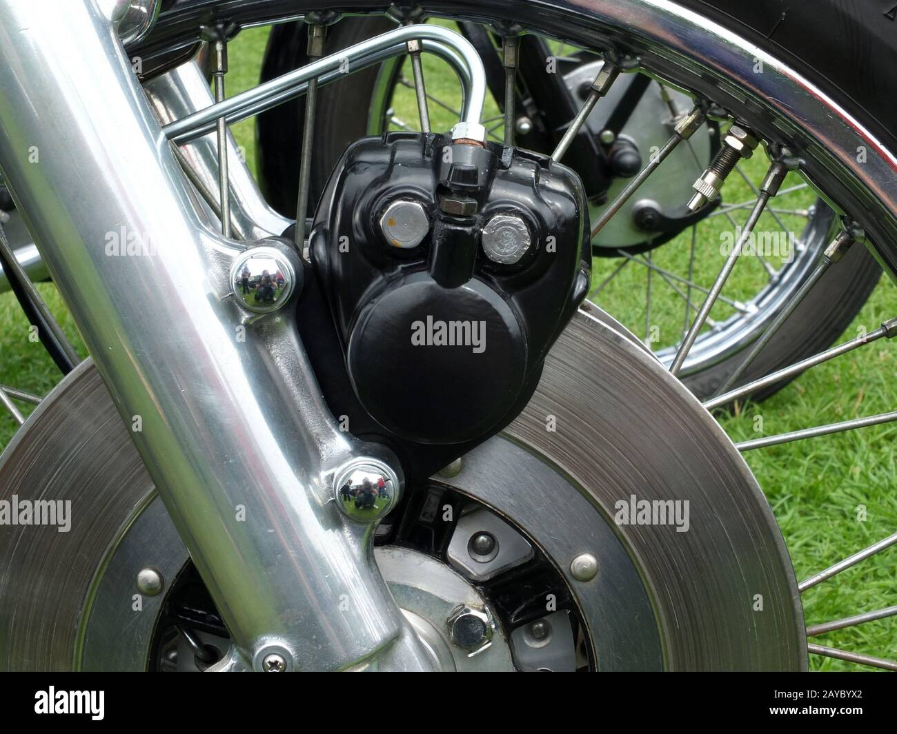 Disk Brake Motorbike Front High Resolution Stock Photography And Images Alamy