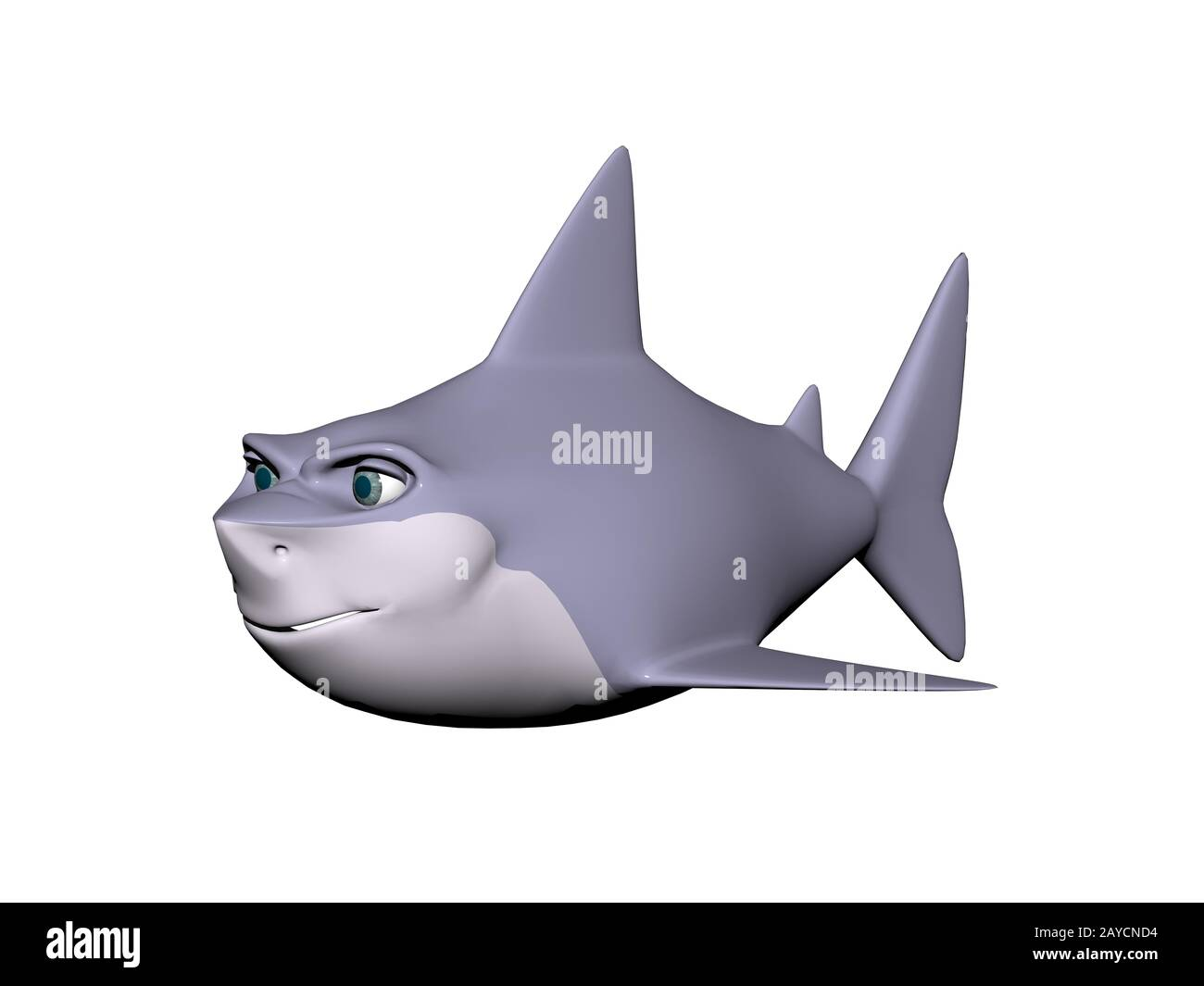 Cartoon Shark High Resolution Stock Photography And Images Alamy