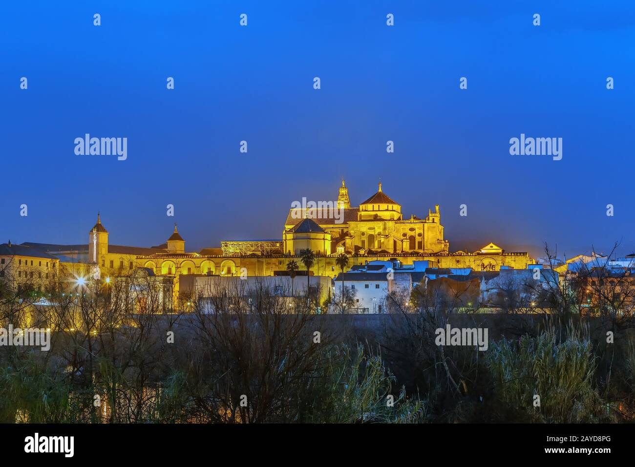 Mosque Cathedral of Cordoba, Spain Stock Photo