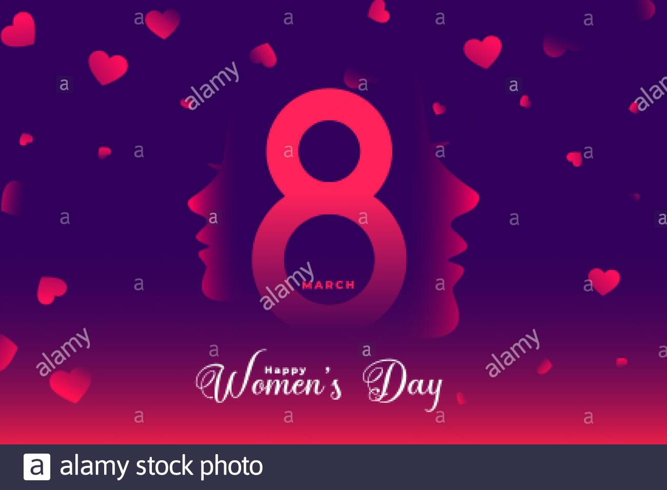Happy Womens Day Beautiful Banner Design Background Stock Vector Image Art Alamy