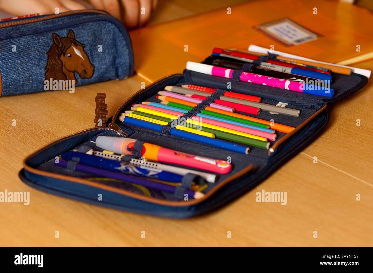 Bleistiftset Stock Photo
