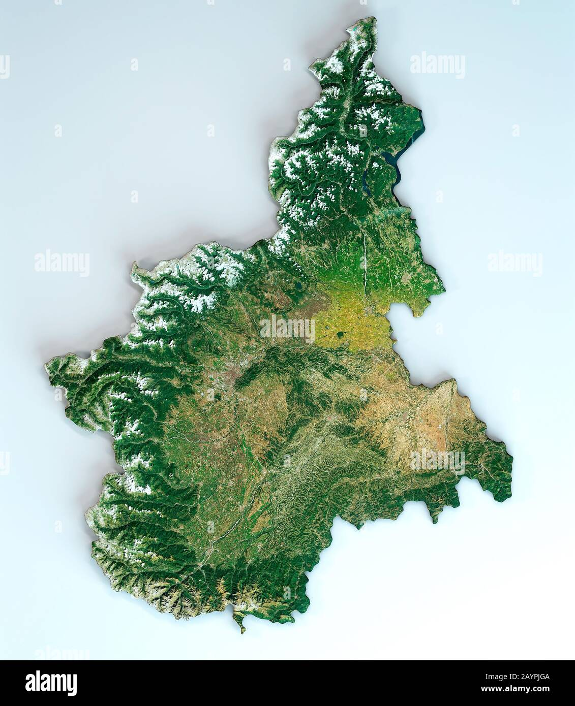 Cartina Geografica Piemonte Politica.Piemonte Map High Resolution Stock Photography And Images Alamy