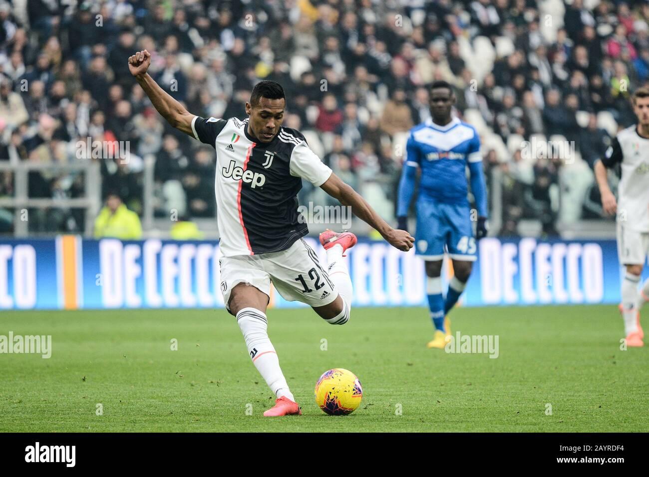 Of Juventus Fc During The Serie A Football Match Between Juventus Fc And Brescia Calcio Juventus Fc Won 2 0 Over Brescia Calcio At Allianz Stadium Stock Photo Alamy