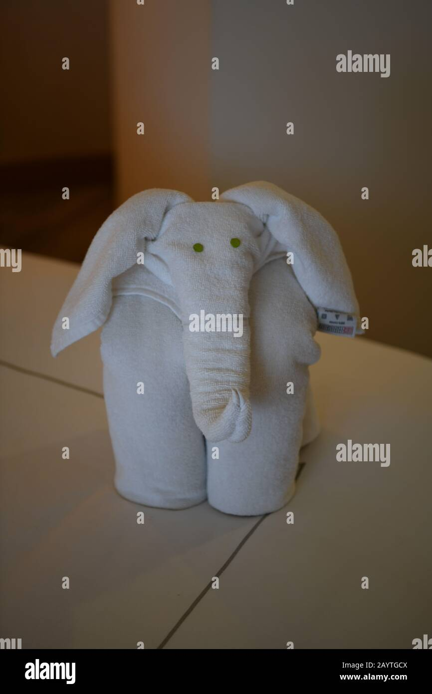 Towel Art High Resolution Stock Photography And Images Alamy