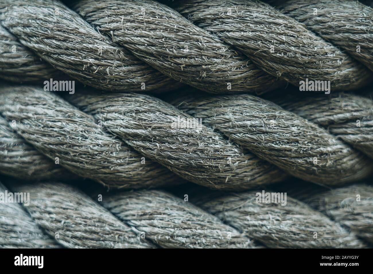 Close Up Of Hemp Rope Background Or Textures Stock Photo Alamy