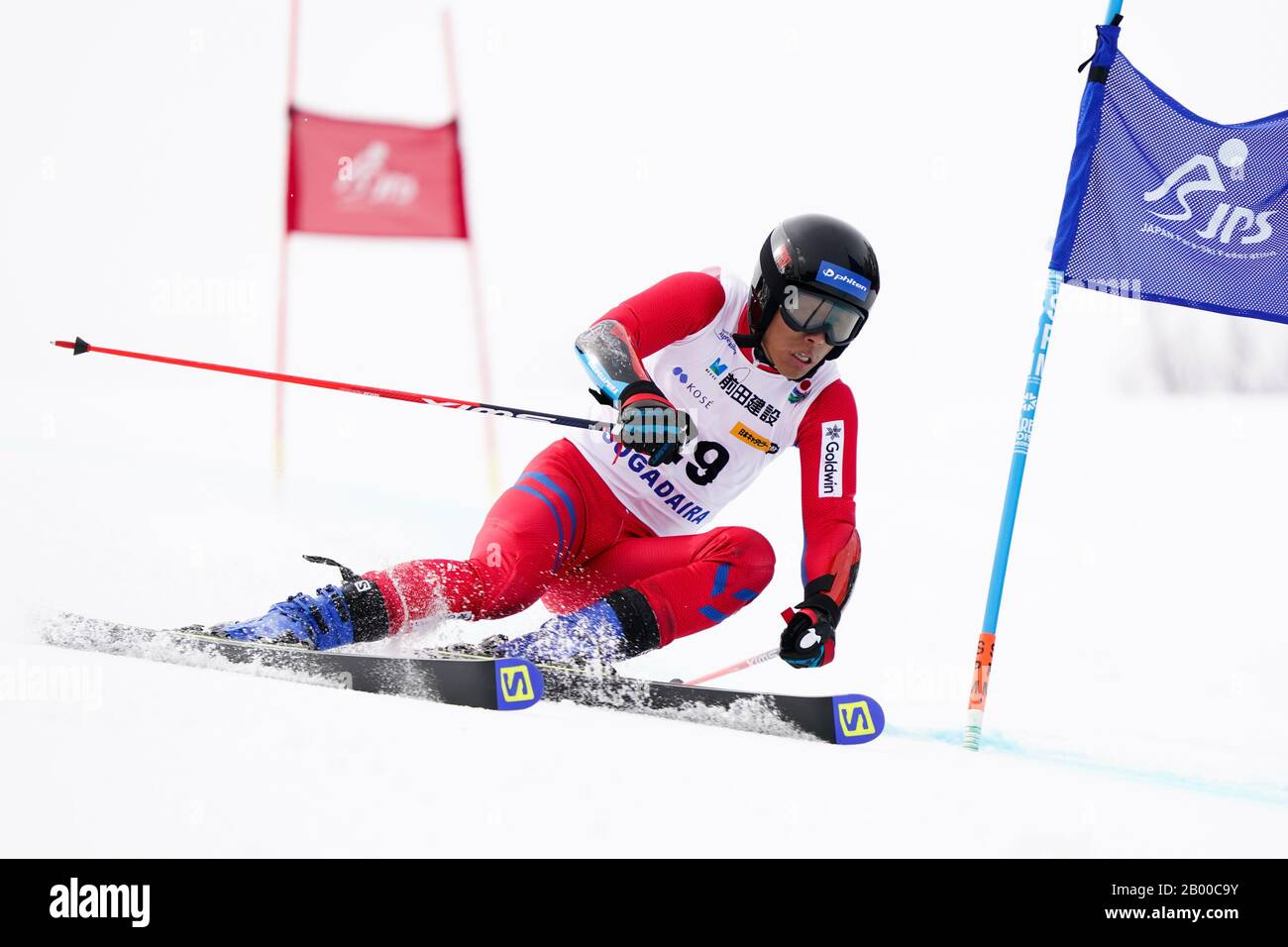 Ueda, Nagano, Japan. 14th Feb, 2020. Kodai Nakamura (JPN), February 14, 2020 - Alpine Skiing : Men's Giant Slalom Deaf at Sugadaira Pine Beak during 2020 World Para Alpine Skiing Asia Cup in Ueda, Nagano, Japan. Credit: SportsPressJP/AFLO/Alamy Live News Stock Photo