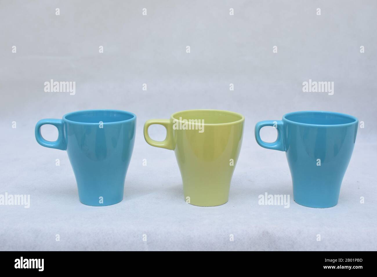 Mockup Set Of Colorful Tea Or Coffee Ceramic Mug Template For Branding Identity And Company Logo Design Drink Ware Dining Caffeine Pot Stock Photo Alamy