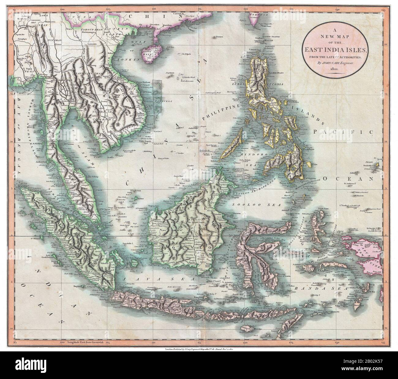 Picture of: Map Of Mainland Southeast Asia Including Burma Myanmar Lan Na Now Northern Thailand Siam Thailand Laos Cambodia Vietnam Champa Malaya Indonesia And The Philippines Pulau Pinang Penang Island Is Shown