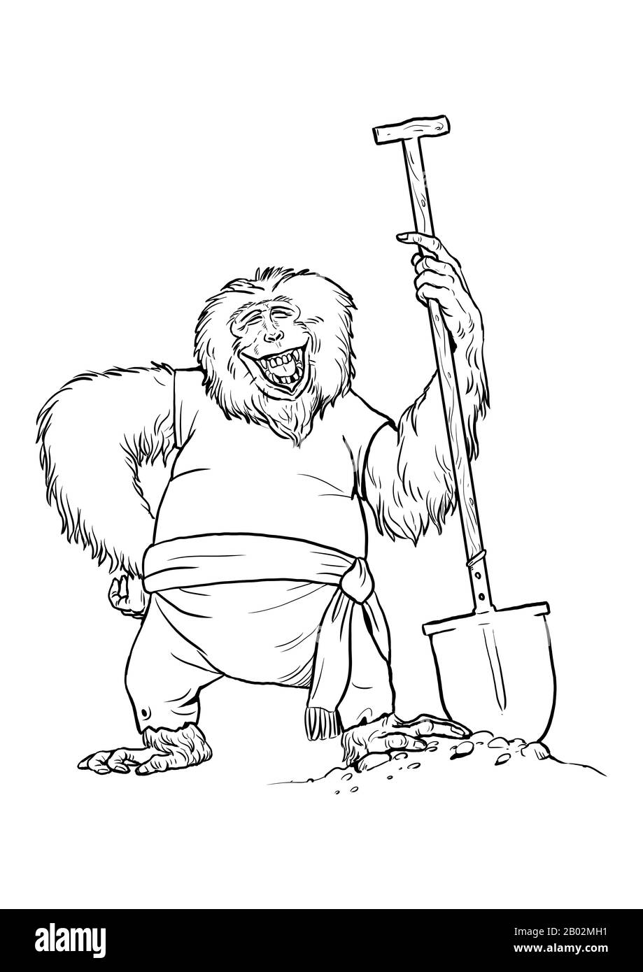 Shovel Coloring Page - Ultra Coloring Pages   1390x919