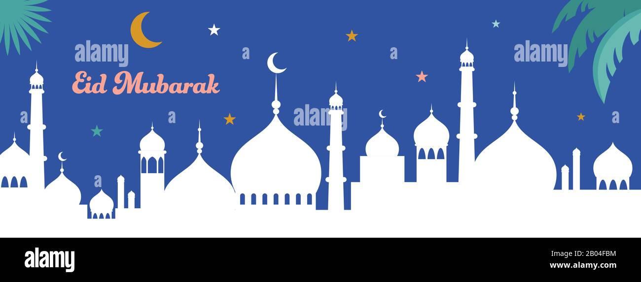 Eid Banner Happy Eid Banner Eid Mubarak Banner