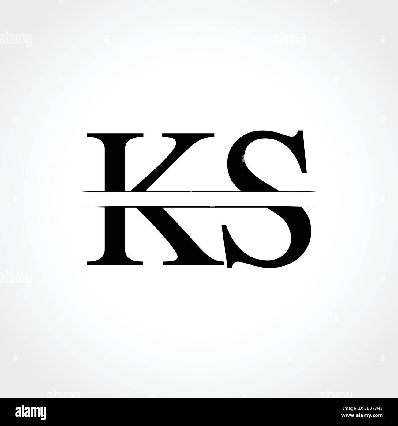 Initial Ks Letter Logo Design Vector Illustration Abstract Letter Ks Logo Design Stock Vector Image Art Alamy