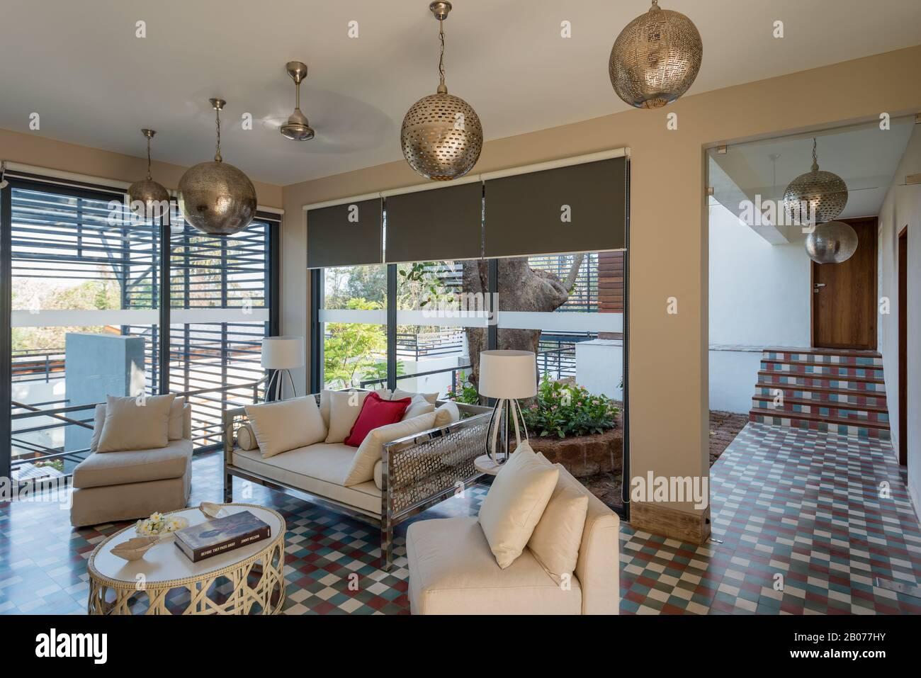 Arabic Style Living Room Stock Photo Alamy