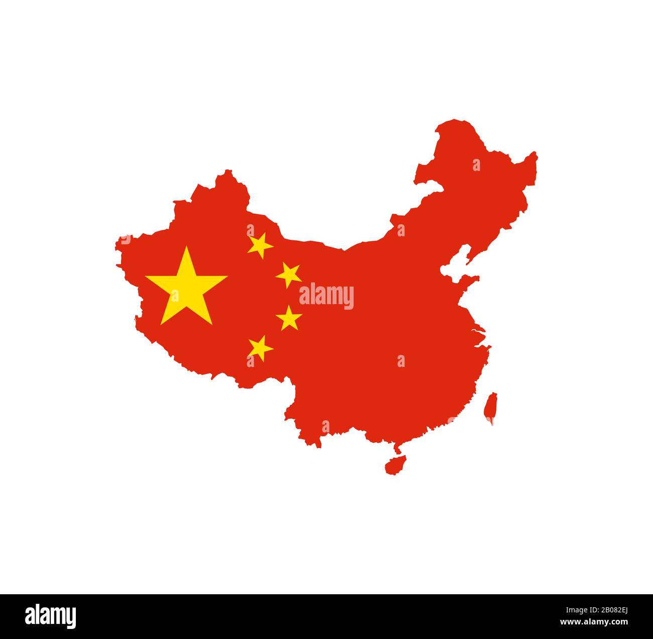 China Map High Resolution Stock Photography And Images Alamy