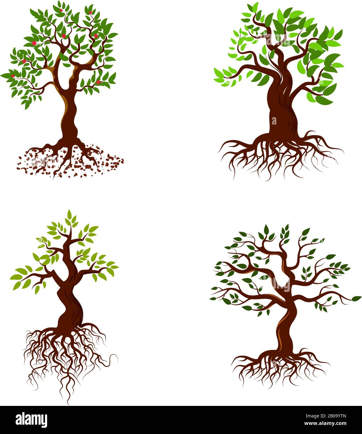 People Clip Art w Roots