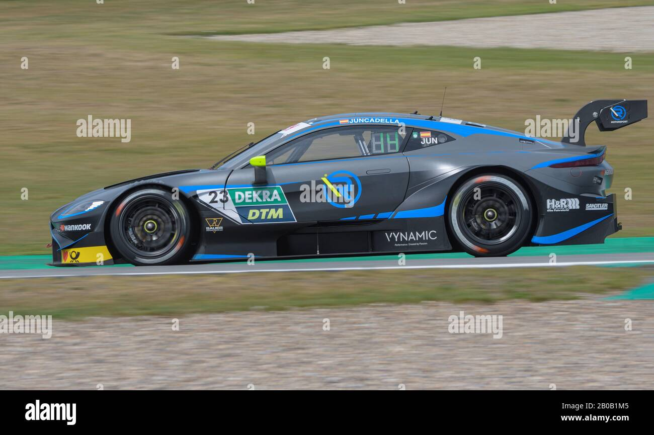 Spanish Racing Driver Daniel Juncadella In His Aston Martin Vantage Dtm Car During A Race At The Tt Circuit In Assen The Netherlands Stock Photo Alamy