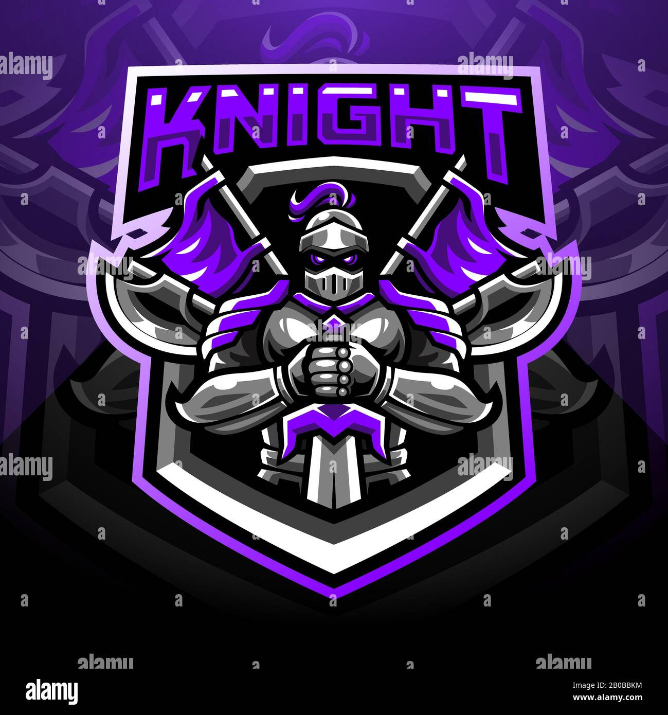 Knight Logo / Designing a professional knight logo is really easy with graphicsprings.