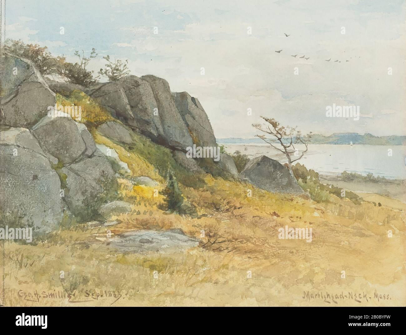 Split Rock by Rudi Reichardt  Image Size  12 x 16