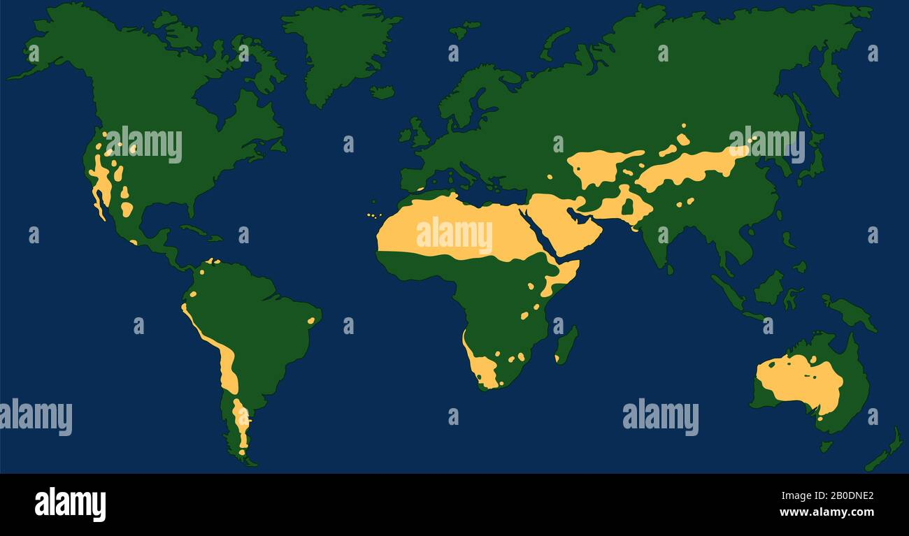 desert in world map Deserts Of The World Map High Resolution Stock Photography And desert in world map